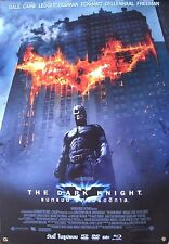 BATMAN - THE DARK KNIGHT PROMO ASIAN MOVIE POSTER - Christian Bale, Heath Ledger