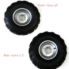 Front 19x7-8 Tyre &Wheel Rim + Rear 18x9.50-8 Tyre For ATV Quad Buggy TAOTAO COO