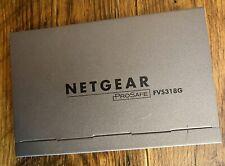 NETGEAR Prosafe Gigabit VPN Firewall FVS318G No Cords