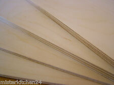 8mm Sperrholz Birke B/BB Furnier Platte 120x50 Holz Multiplex Modellbau basteln