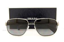 Brand New Prada Sunglasses 52P 52PS 5AV/5W1 GUNMETAL GRADIENT POLARIZED GRAY Men