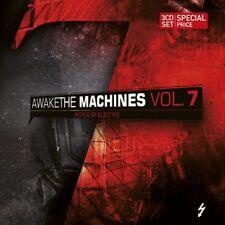 AWAKE THE MACHINES 7 3CD 2011 Blutengel HOCICO Agonoize