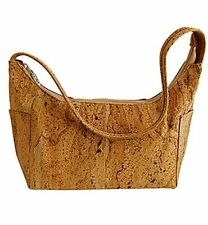 CORX Cork Shoulder Handbag 'Palmela' Natural Eco-Friendly Made in Portugal