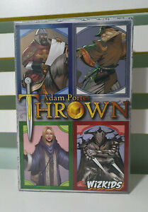 THROWN TABLE TOP GAME ADAM PORTER WIZKIDS NEW IN PLATIC 3-5 PLAYERS