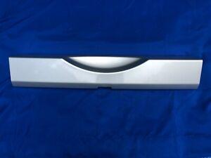 2007-2018 JEEP WRANGLER JK Rear Bumper Cover Bright Silver OEM stock applique