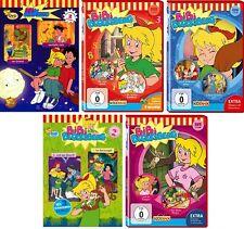 5 DVDs * BIBI BLOCKSBERG - DVD 1 - 5 IM SET - Zeichentrickserie # NEU OVP KX