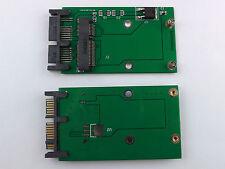 MSATA a SATA 1.8 SSD de 2.5 micro SATA convertidor adaptador microsata 16pin 7+7+2