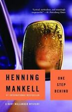 One Step Behind by Henning Mankell (2003, Paperback, Reprint)