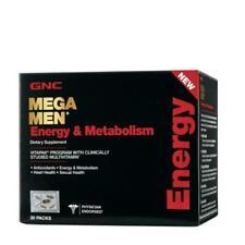 GNC Mega Men Energy & Metabolism VitaPak (30 Packs)