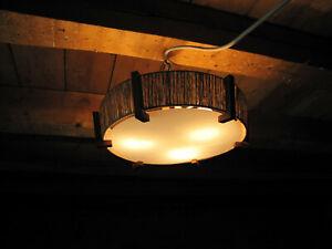 Temde Sisal Deckenlampe Lampe Deckenleuchte