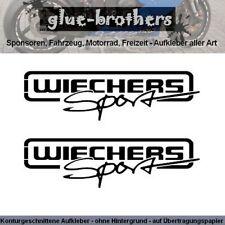 Wiechers Sport Sticker Aufkleber Tuning Motorsport Rally Fahrwerk Überrollbügel