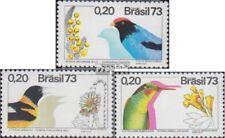 Brasilien 1368-1370 (kompl.Ausg.) postfrisch 1973 Fauna und Flora
