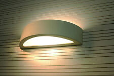 Light Modern LAMP LED ready E-27 Ceramic Sconce Made In Eu HOME OFFICE - ORION