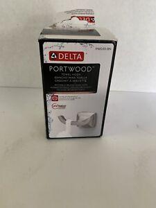 Delta Portwood Towel Hook in SpotShield Brushed Nickel