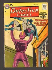 "Detective Comics #258 - ""Prisoners Of The Giant Robots!"" - (Grade 5.0/5.5) Wh"