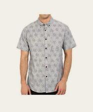 BILLABONG Men's ROSWELL S/S Button-Up Shirt - CHY - Medium - NWT