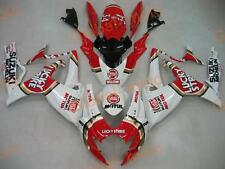 Fairings for GSXR600/750 06-07 Red Lucky Strike colors ABS Kits 2006 2007 suzuki