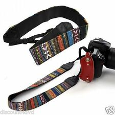 Neck Straps Vintage All SLR DSLR Camera Shoulder Strap Belt For Canon Sony Nikon