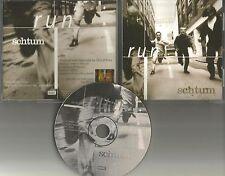 SCHTUM Run 1996 Ultra Rare 1996 USA PROMO Radio DJ CD Single MINT osk 7958