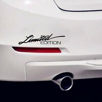 New Letter Decal Cool Auto-styling Car Sticker Window Vinyl  LIMITED EDITION