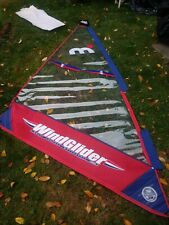 New! North Sails Windglider Windsurfing Sail Red and Blue Mistral