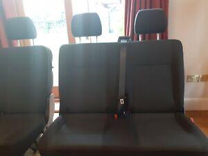 Vw transporter rear kombi seats