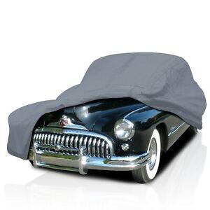 [CSC] 4 Layer Semi Custom Fit Full Car Cover for Buick Century 4-Door 1936-1942