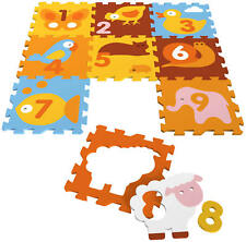 Knorrtoys.com KNORRTOYS 21008 - Tatamiz Puzzlematte Tiere 9 matten (35-tlg.)