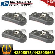 4 Oem 4250b975 4250a030 For Mitsubishi Tire Pressure Sensor Amp Service Kit Tpms
