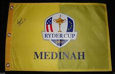 BRANDT SNEDEKER SIGNED 2012 RYDER CUP FLAG MEDINAH TEAM USA AUTOGRAPHED COA J1