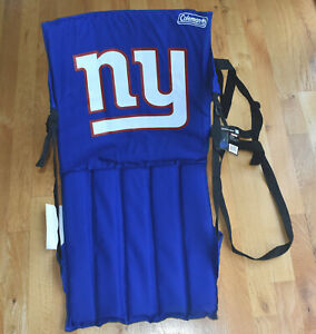 NWT New York Giants NFL Football NFL Stadium Seat Cover Bleacher Cushion Coleman
