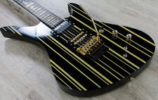 Schecter Synyster Gates Custom-S Signature Electric Guitar Sustainiac Black/Gold