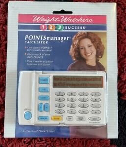 1998 Weight Watchers Points Manager Calculator WW 123 Success Program SEALED!