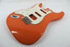 MJT Official Custom Vintage Age Nitro Guitar Body By Mark Jenny VTS Orange Lefty