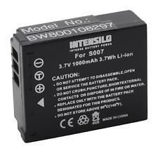 Akku für Panasonic Lumix DMC-TZ2, DMC-TZ3, DMC-TZ4 1000mAh 3,7V Li-Ion