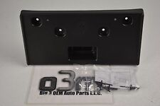 2012 2013 Chevrolet Sonic Front LICENSE Plate Mounting Bracket w/ Hardware OEM