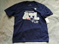 A51 Patriots Super Bowl LIII Champions Destination ATL Youth Medium T-shirt