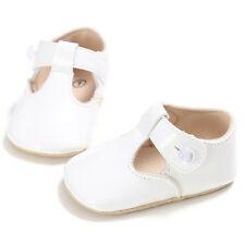 Baby Soft Sole Shoes Newborn Girl Kids Toddler Princess Bow Crib Prewalker 0-18M