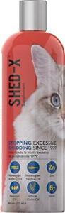 Shed-X Dermaplex Liquid Daily Supplement for Cats – 100% Natural – Eliminate