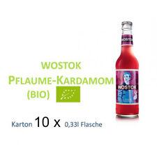 Wostok Pflaume Kardamom 10 Flaschen je 0,33l