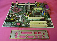 HP 404794-001 DC5700 Socket 775 Motherboard 404166-001 With I/O Backing Plate