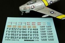 Brengun 1/144 F-86F Sabre 335th FIS etch for Trumpeter # 144084
