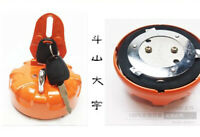 1pc for Fuel Tank Cap With 2 Keys for Daewoo Doosan Excavator DH215-7 DH225-9