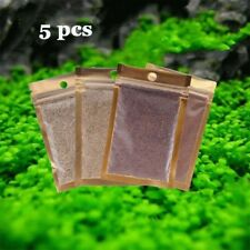 5pcs Aquarium Plant Seeds Fish Tank Water Live Plant Grass Leaf Seed Decoration