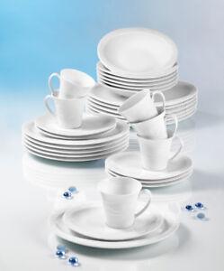 Seltmann Weiden Allegro 32 Tlg Speise& Kaffeeservice + Platte +Sauciere Komplett