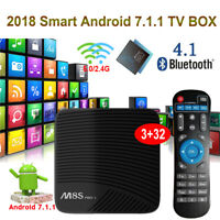 3GB+32GB M8SPRO L Android 7.1 Nougat S912 Octa core TV BOX Player Dual WIFI HDR