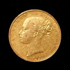 1842 Great Britain XF Sovereign Gold Coin - No Reserve