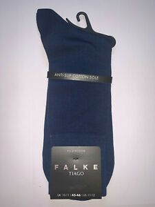 Falke Tiago Fil D'ecosse Royal Blue Socks Size 10-11