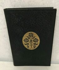 The Way of Poetry - Selected by John Drinkwater - Antique miniature leather book