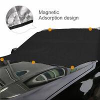 Protège pare-brise de voiture soleil neige glace givre vent couverture tissu